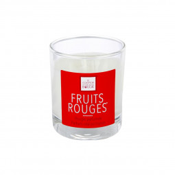 Bougie parfumée fruits rouges D8