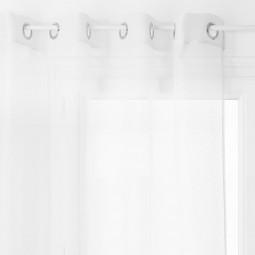 Voilage blanc Moly 135 x 240 cm