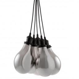 Suspension ampoules en verre x5 H35