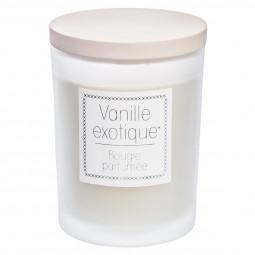 Bougie en pot parfumée vanille exotique 230G