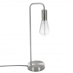 Lampe à poser en métal coloris Argent H 45.5 cm Keli