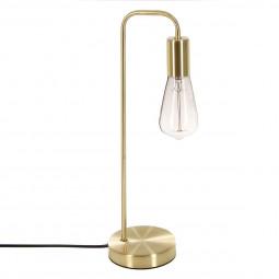 """Lampe dorée en métal H46 """"Essential Mood"""""""
