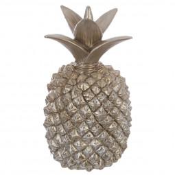 Ananas champagne en résine Grand Modèle 38 cm