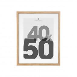 Cadre bois 1 photo avec Marie-Louise 40x50