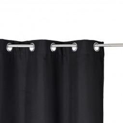 Rideau isolant noir 140 x 260 cm