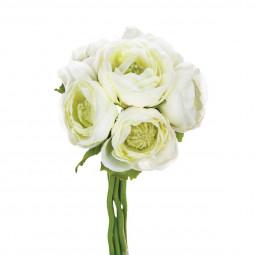 Bouquet de 6 renoncules H 25 cm