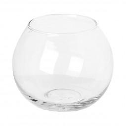Photophore verre rond H10