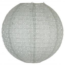 Lanterne boule neutre ajourée D35