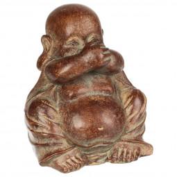 Bouddha en résine 11X9.5X12