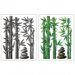 """Sticker à relief """"Bambou"""" 38X50"""