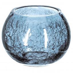 Photophore rond en verre H10