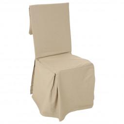 Housse de chaise lin