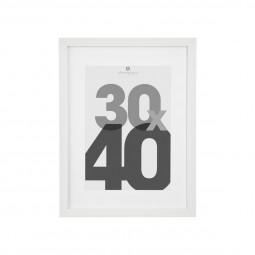 Cadre photo blanc 30x40