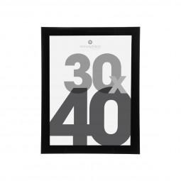 Cadre photo noir 30X40