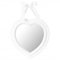 Miroir coeur à ruban 27X27.5