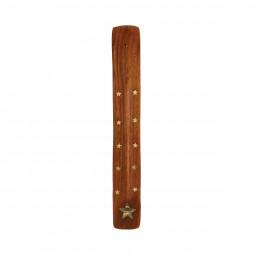 Support à encens en bois 25.5X3.5