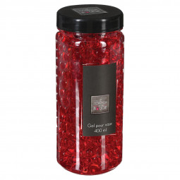 Gel crystal vase rouge 400ML
