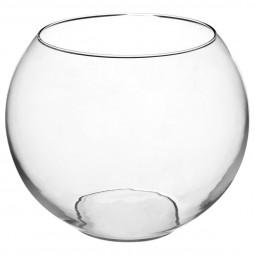 Vase boule transparent D25XH20