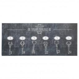 Panneau 6 clés bistrot 19X44