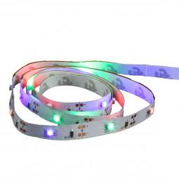 Ruban LED multicolore à piles 1M