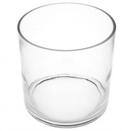 Vase cylindre verre H18