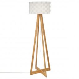 Lampadaire bambou Moki H150