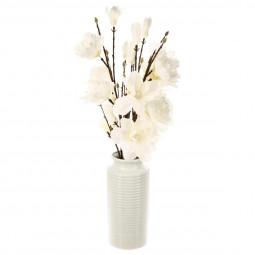 Composition magnolia en vase H75