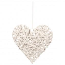 coeur décoration en osier 30X30