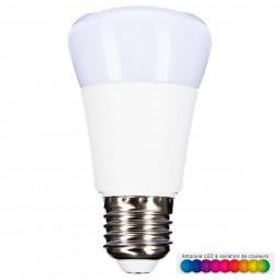 Ampoule LED multicolore + télécommande