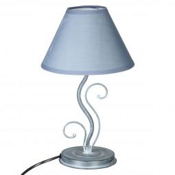Lampe feuille en métal H34