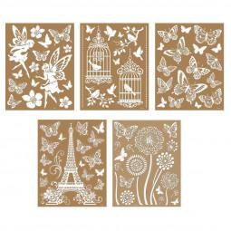 Sticker illustratif vitre 35X27
