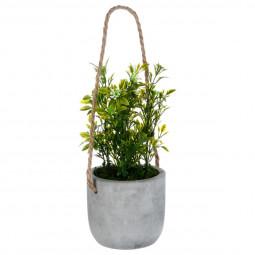 Plante artificielle en pot H25