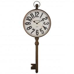 Pendule métal clef 39.5X100