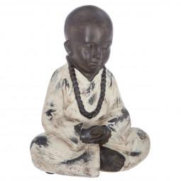 Bouddha assis en résine H18