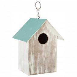 Maison oiseau en bois H17.5