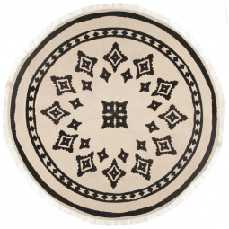 Tapis rond nomade D90