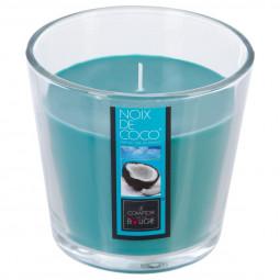 Bougie verre parfumée coco 250G