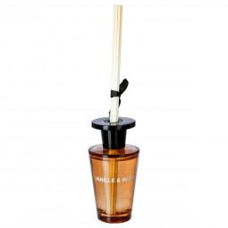 Diffuseur Vanille et Musc 150 ml + 6 bâtons