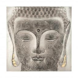 Toile Bouddha 58X58X3.5
