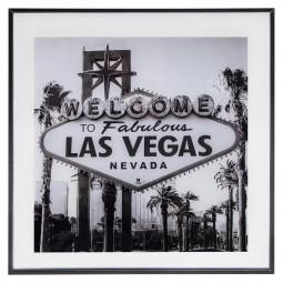 Cadre décoratif Vegas 50 x 50 cm