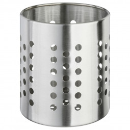 Pot range couverts en inox