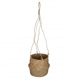 Cache pot seagrass etnik D18