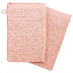 Lot de 2 gants rose 15x21 cm
