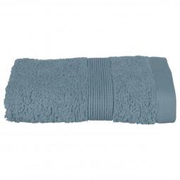 Serviette invité bleu orage 30x50 cm