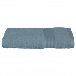 Serviette de toilette bleu orage 50x90 cm