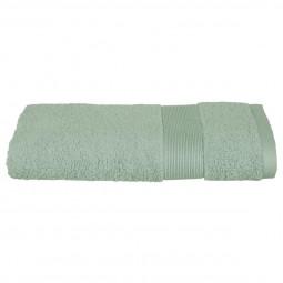 Serviette de toilette vert céladon 50x90 cm