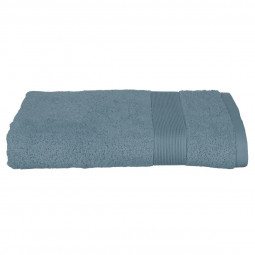 Drap de douche bleu orage 70 X 130 cm