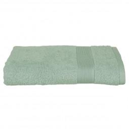 Drap de douche vert céladon 70 X 130 cm