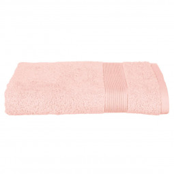 Drap de douche rose 70x130 cm