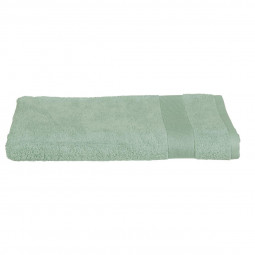 Drap de bain vert céladon 100 X 150 cm